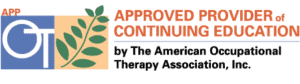 The American Occupational Therapy Association approved CE provider